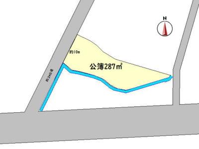 いなべ市大安町門前 住宅用地 (86.81坪) バイパスなどへのアクセス良♪